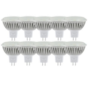10x-EGLO-12721-Power-LED-Reflektor-3W-GU5-3-warmweiss-90Grad-Ausstrahlwinkel