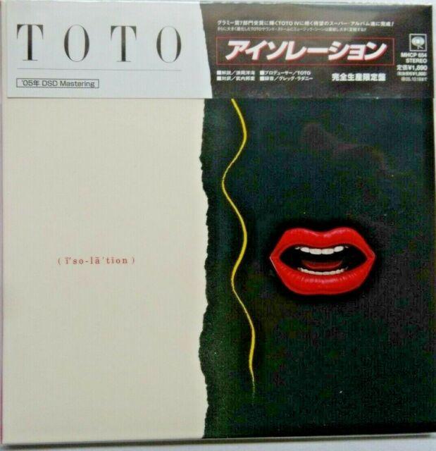 Toto - Isolation Cardboard Sleeve Japan CD  DSD Mastering  MHCP-654 NEU NEW MLPS