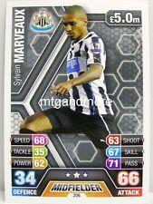 Match Attax 2013/14 Premier League - #206 Sylvain Marveaux - Newcastle United
