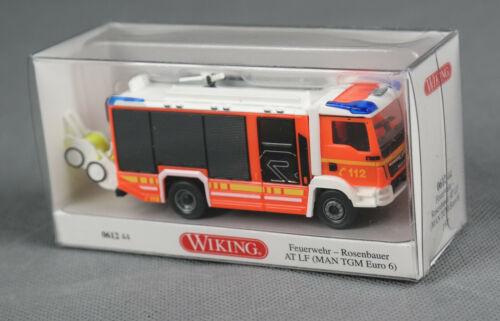 WIKING 061244//0612 44 Feuerwehr AT LF H0, 1:87 MAN TGM Euro 6//Rosenbauer