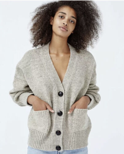Babaa Women's Cardigan no17 / Mist / One Size / Cu