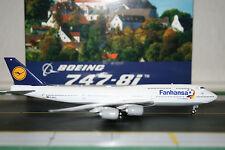 Phoenix Models 1:400 Lufthansa Boeing 747-8 D-ABYO 'Fanhansa' (PH4DLHXXX)