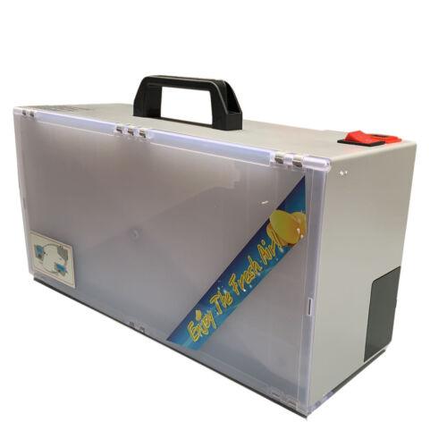 Tragbare Lackierkabine Spritzkabine Absauganlage faltbare für Modellbau Airbrush