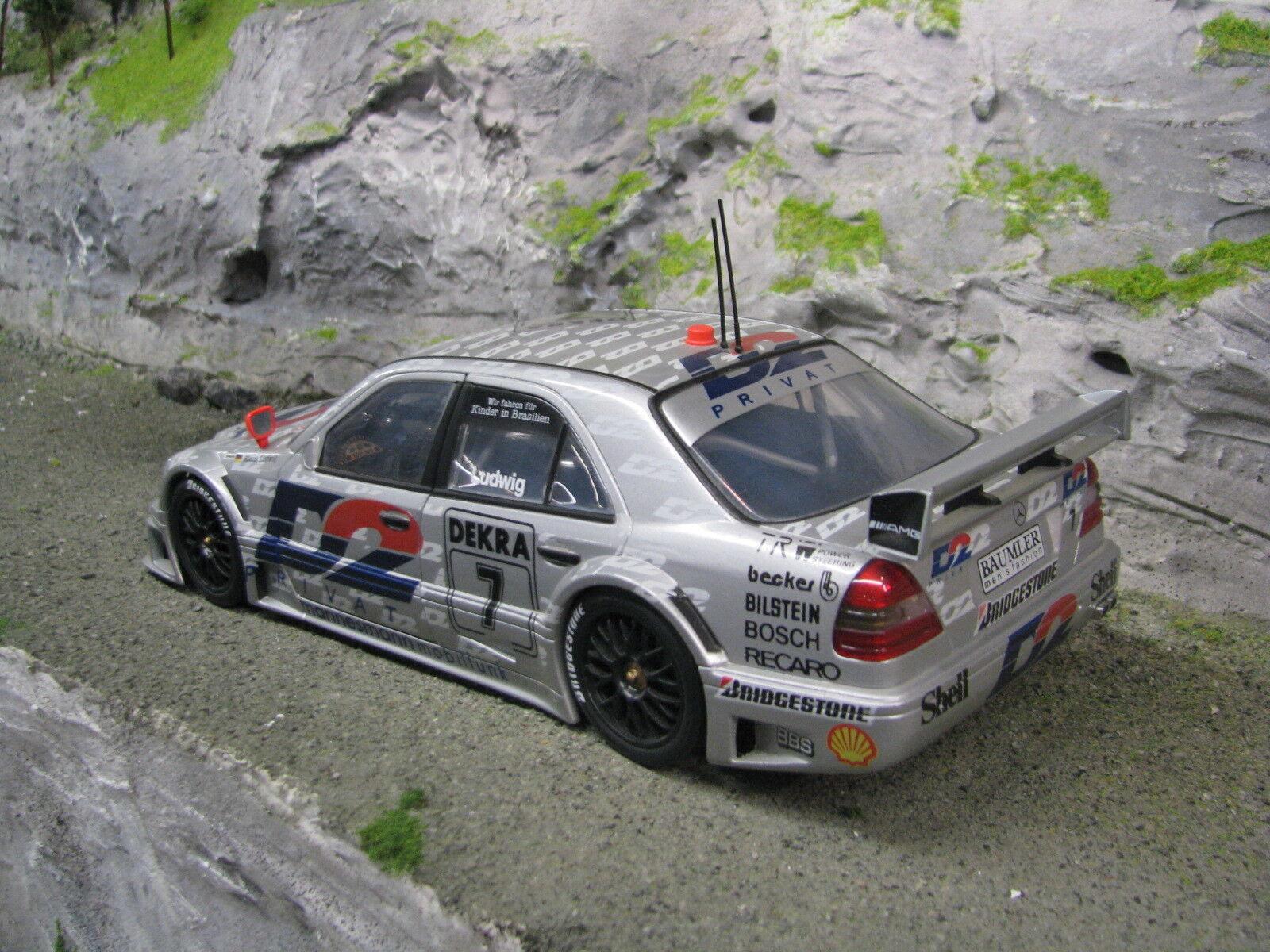 UT Models Mercedes-Benz C-Class DTM 1994 1 18 18 18 Klaus Ludwig (GER) (MBC) 468ca1