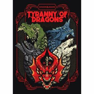 1x-Tyranny-of-Dragons-5E-Alternate-Limited-Cover-New-Near-Mint-Product-D-amp-D-5