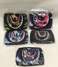 3 Fashion Bathing Ape Bape Shark Face Mask Camouflage Mouth-muffle Couple Unisex