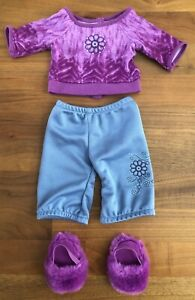 American-Girl-Doll-Chrissa-039-s-Pajamas-Retired-2009-Girl-of-the-Year