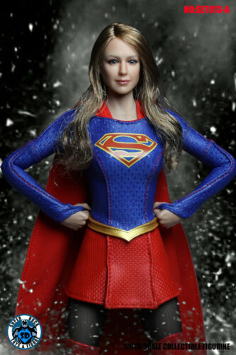 "Clothing Set A For 12/"" PHICEN Female Figure IN STOCK 1//6 SUPERGIRL Head Sculpt"