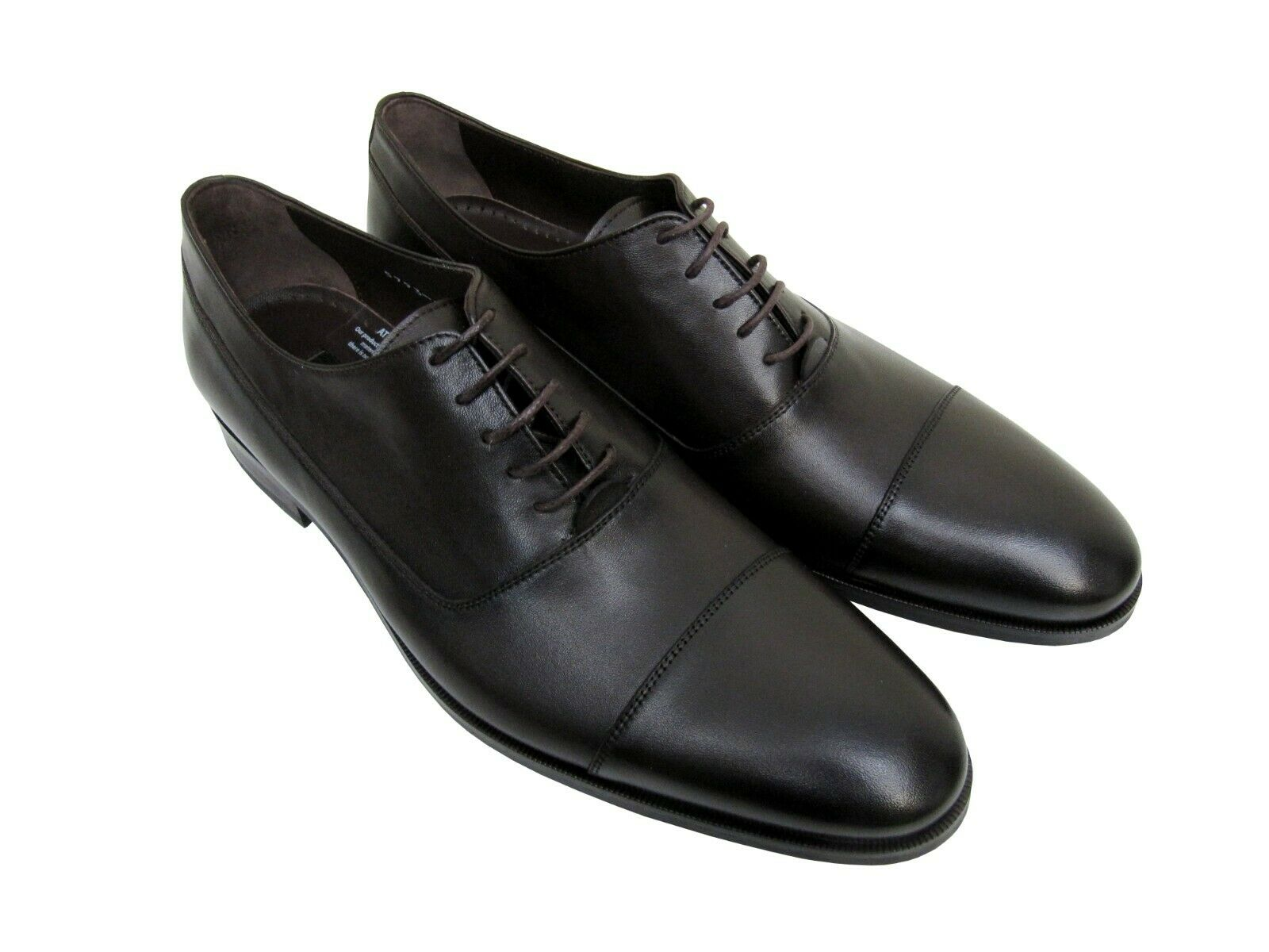Herren leder Schuhe Business Freizeit Gr.41 Dunkelbraun