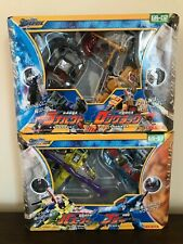 Takara Transformers Galaxy Force GS-01 Blurr vs Buzzsaw Japan version