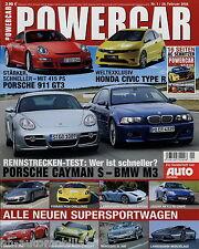 Powercar 1/06 2006 Abt AS4-R Audi RS4 BMW M3 Z4 Corvette Z06 Mondeo ST 220 Miura