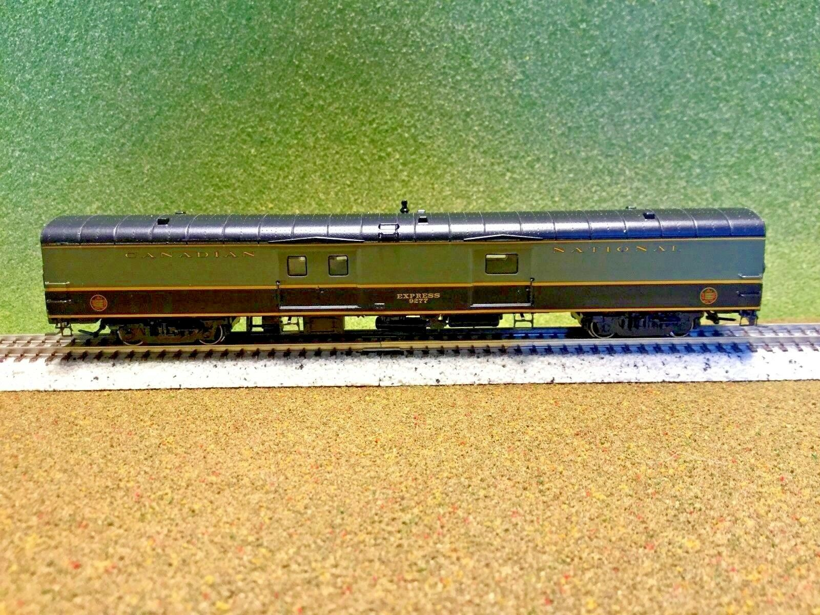 RAPIDO  1/160 N SCALE CANADIAN NATIONAL 73' 1954 EXPRESS BAGGAGE CAR  506510 F/S