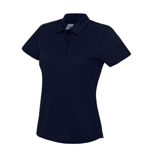 New Awdis Just Cool Girlie Wicking Polo Shirt Hemmed Sleeves Gym Sports Shirts