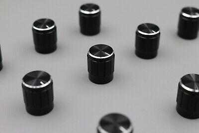50Pcs New 15x17mm Golden Knob Cap Mini Aluminum Alloy Potentiometer Knobs