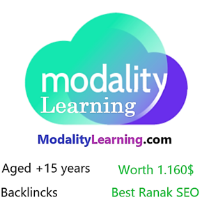 ModalityLearning.com 2 words Brandable Premium Aged domain Name for Sale