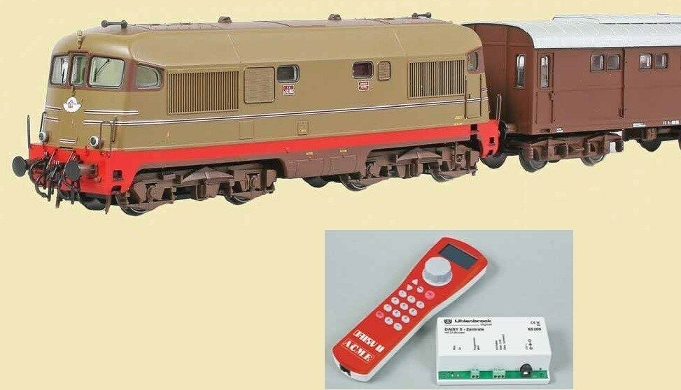 Acme 70047 Set con Locomotore FS, carro generatore con disp fumogeno e centrale
