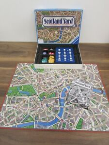 Vintage 1983 Ravensburger Fisher-Price Scotland Yard Board Game Complete