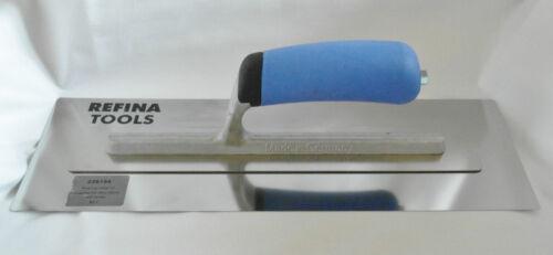 "Refina Superflex Skimming Trowel 14/"" 16/"" 18/"" Flexible Stainless Steel Blade"