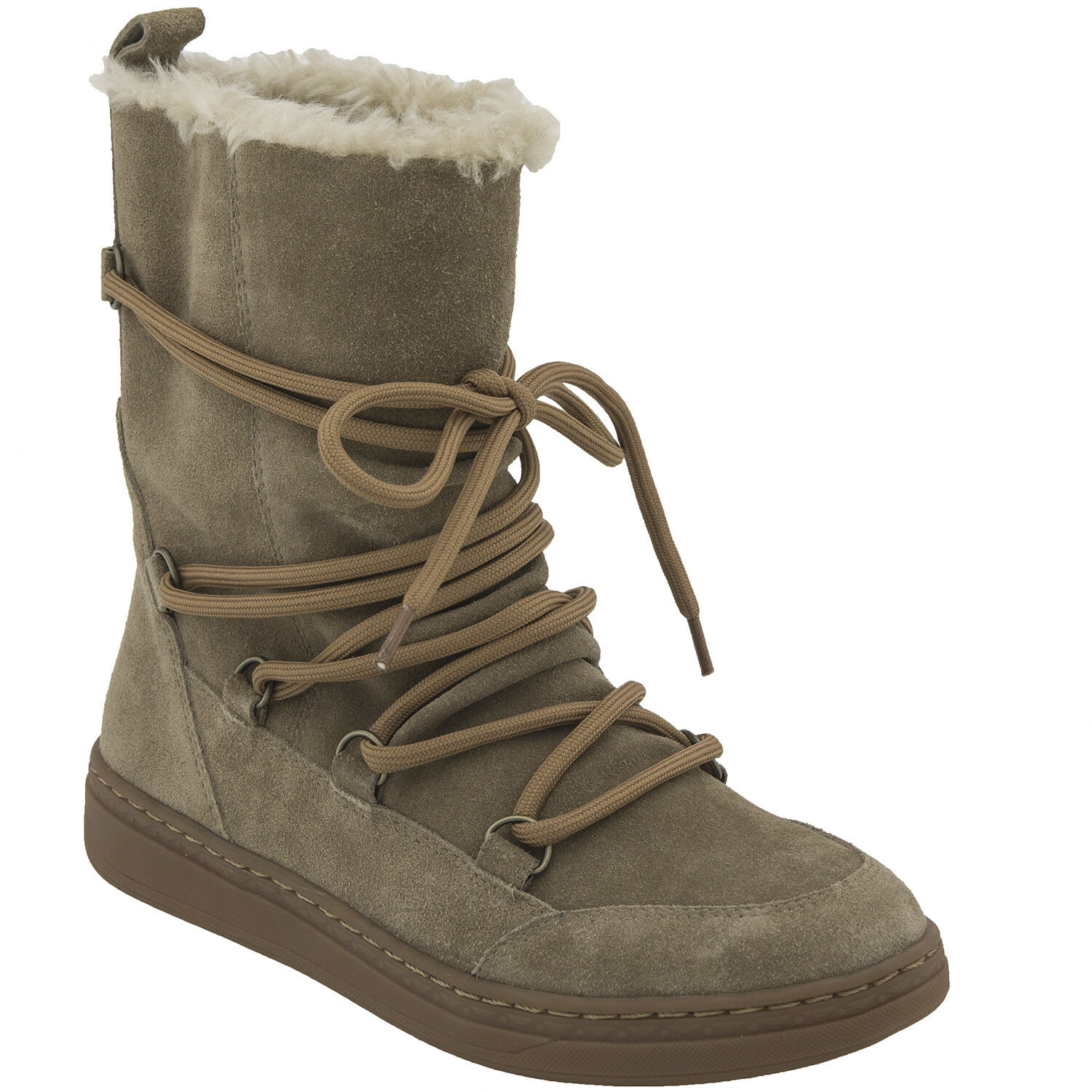 Earth Shoes Zodiac Winter Snow Boot Water Resistant Light Tan Donna Size 8