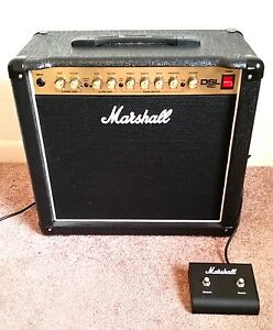 marshall dsl15c 15w all tube 1x12 guitar combo amp black ebay. Black Bedroom Furniture Sets. Home Design Ideas