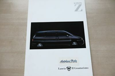 187187) Lancia Zeta - Österreich - Prospekt 02/2000 Exquisite Traditionelle Stickkunst