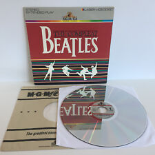 Beatles: The Compleat | US-Laserdisc + OIS | LD: Very Good | Cover: Very Good