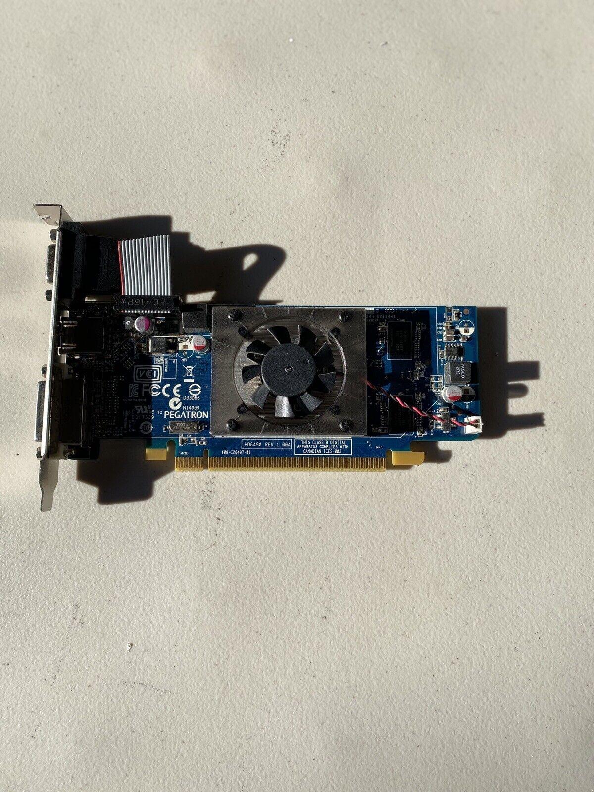 AMD Radeon HD6450 Video Graphics Card 1GB DDR3 HDMI VGA DVI-D