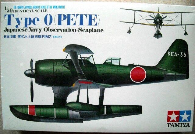 Tamiya 61511 Mitsubishi Typ O Beobachtungs Flugzeug (Pete) 1  50