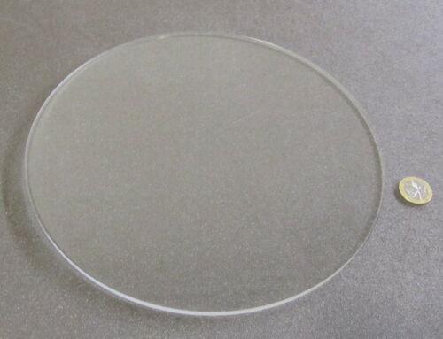 "1//4/"" .220/"" Thick x 10.0/"" Diameter Acrylic Circle Disc Clear"