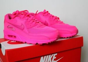 7bfdb6276ac13 ... Hyper Pink Vivid Pink online! Image is loading NIKE-AIR-MAX-90-2007-GS-WOMENS  ...