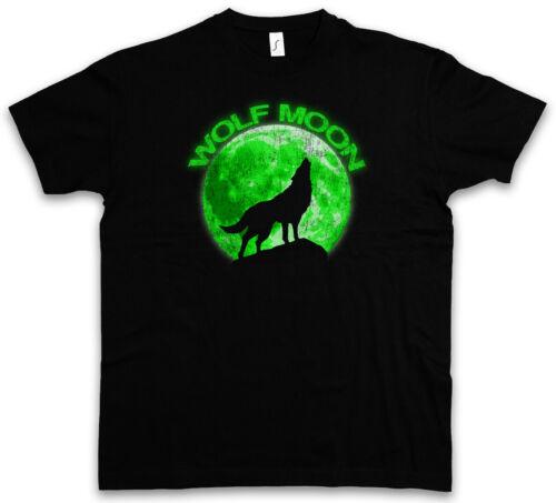 WOLF MOON T-SHIRT Werewolf The O Werwolf Horror Hurlements Howling Negative