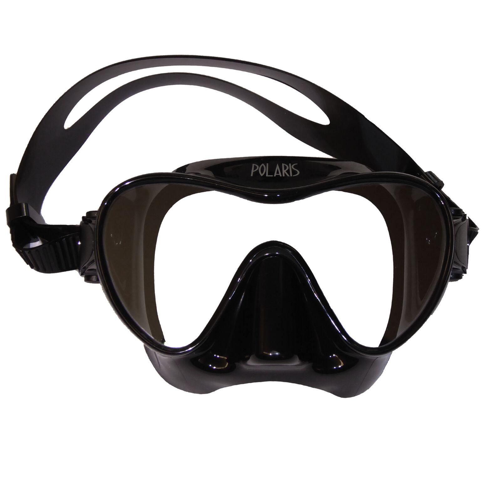 Polaris Frameless – Vetro una Immersione  e Schnorchelmaske