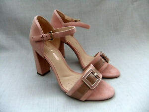 Curtain Nuevo Shoes Sandals Shine 37 Suede talla Pink Clarks Womens 4 qW1r1A75Tw