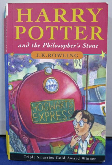 HARRY POTTER & THE PHILOSOPHER'S STONE JOANNE ROWLING UK PB BOOK 12th PRINT RUN