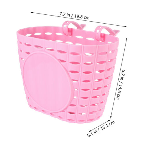 Thicken Children Kids Bike Bicycle Cycle Front Basket Shopping Storage Bag