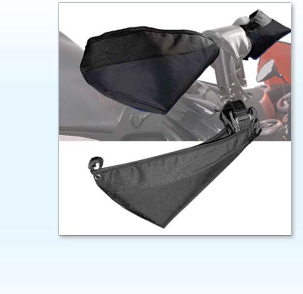 Choko Universal Snowmobile Lined Handlebar Muff Wind Guard Gaunlets 229008