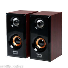 Quantum QHM630 Portable USB 2.0 Powered Speaker for PC Mobile with Mfg Warranty