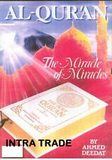 AL QUR'AN The Miracle of Miracles Book Quran Koran El Coran Ahmed Deedat Islamic