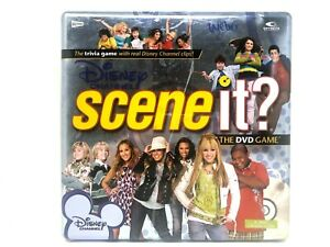 Scene-It-Disney-Channel-Board-and-DVD-Game-in-Storage-Tin-Everything-Included