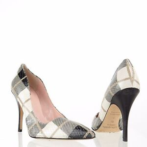 701a45551125 Kate Spade New York Licorice Too Women s Shoes Snakeprint Pumps Sz ...