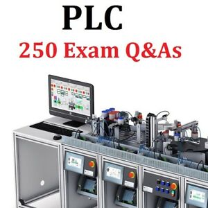 Details about Programming Logic Controllers - 250+ PLC Exam Questions +  Answers by Topics