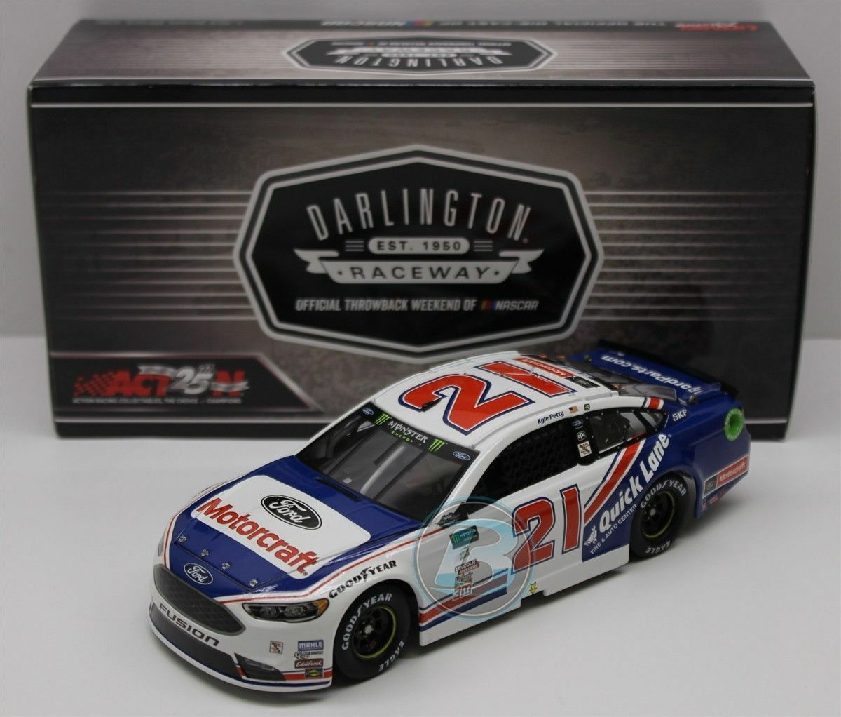 Ryan Blaney Motorcraft Darlington 2017 HOTO 1 24 Scale NASCAR Cup Diecast