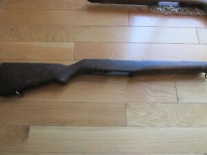 Details about M1 Garand Stock Cool! US Military Marked! With All Metal!  Open Fire!! POW!