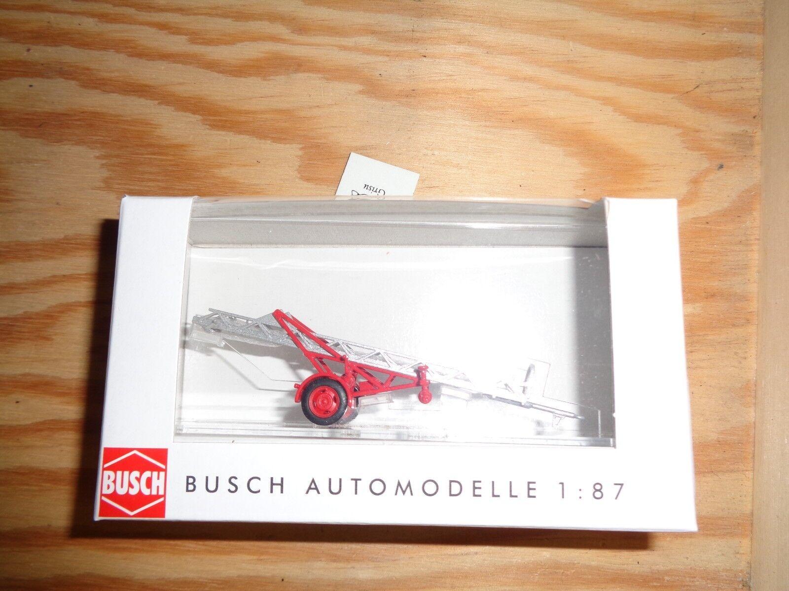 H0 1 87 Busch 59939 remorque CHEF Al 12. terminé modèle. NEUF dans sa boîte