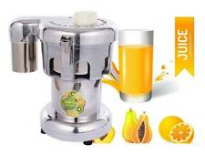 New 110v Commercial Electric Juicer Machine Stainless Steel Juice Extractor