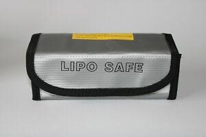 Lipo-Akku-Tasche-Safe-Bag-185X75X60mm-Feuerfest-Sicherheitstasche-Feuerschutz-DE