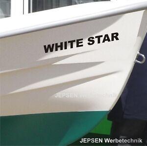 Folienschrift-Aufkleber-Boot-Beschriftung-70cm-laenge-Bootsaufkleber