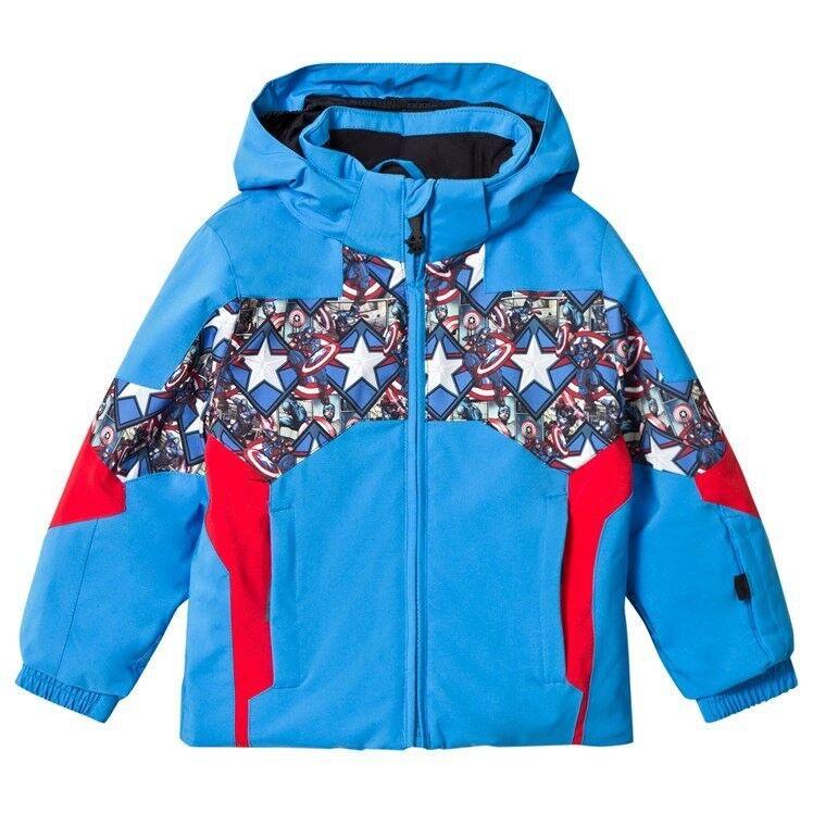 Spyder Boys Ambush Jacket Snowboarding Jacket Größe 5 Boys Captain America Marvel