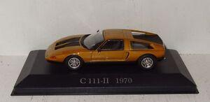 Ixo-MODELLO-DI-AUTO-MERCEDES-BENZ-C-111-1970-1-43-De-Agostini-r2-1-22
