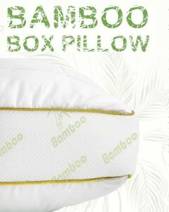LUXURY-ANTI-ALLERGY-ORGANIC-BAMBOO-BOX-WALL-FIBRE-BACK-NECK-SUPPORT-PILLOWS